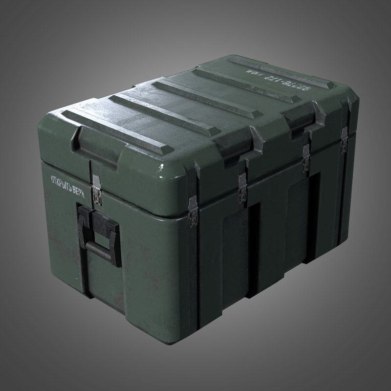 obj military weapons crate 2