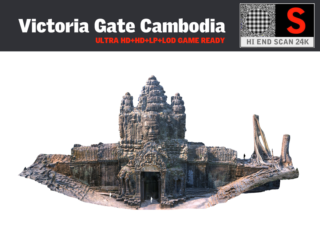 3d victoria gate cambodia