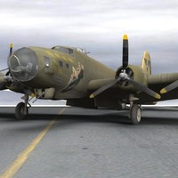 pz3 bomber flying