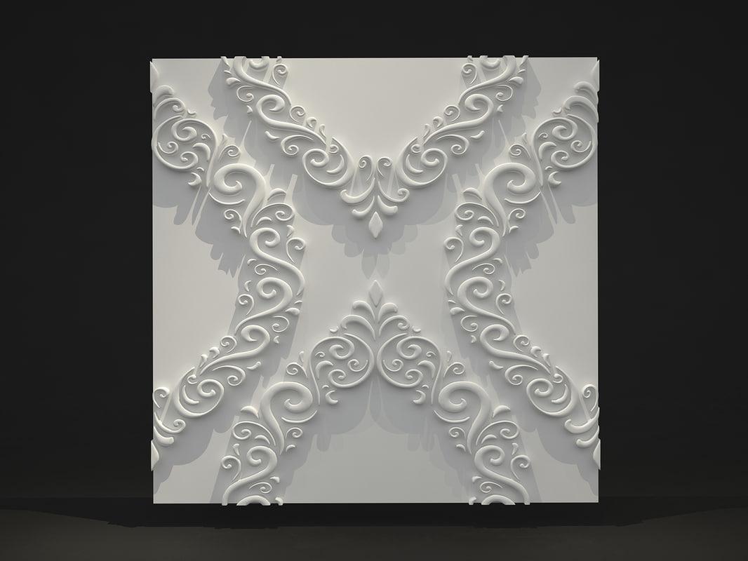 panel wall decoration max