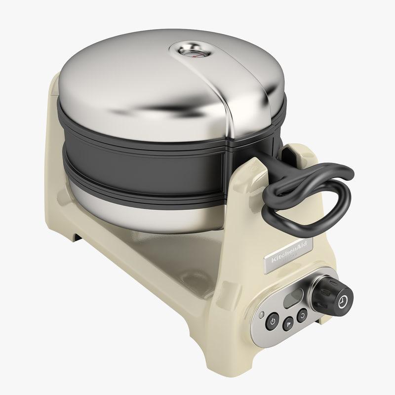 kitchenaid artisan waffle iron 05 - Kitchen Aid Waffle Makers
