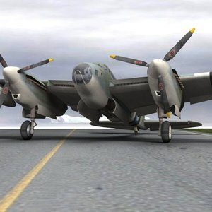 mosquito dehavilland 3d model
