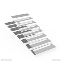 stairs obj