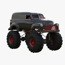 monster truck 3D models