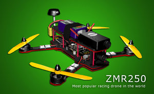 3d max racing drone