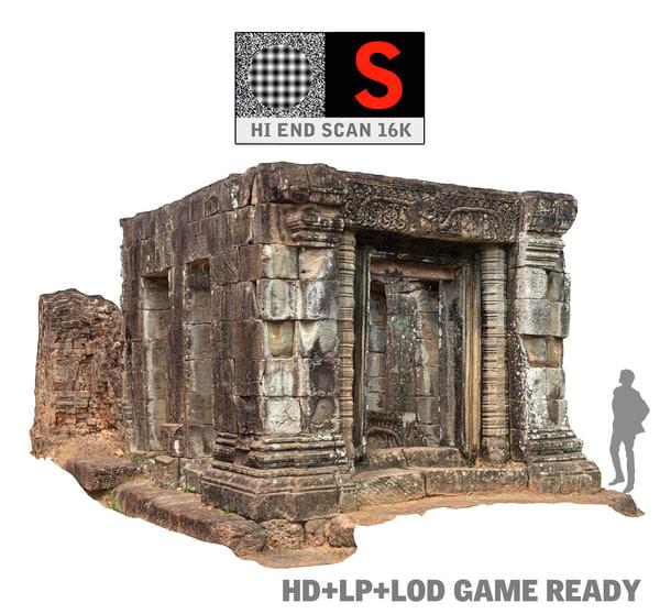 3d max ancient ruins 16k