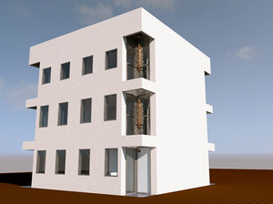 3d model of revit house roof design home