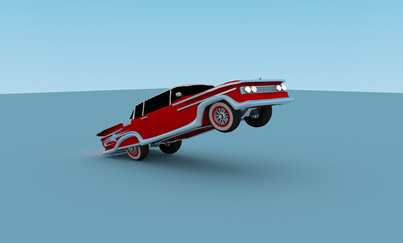 3ds car lowrider