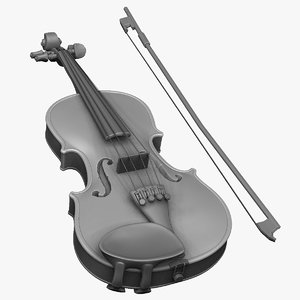 violin zbrush strings obj