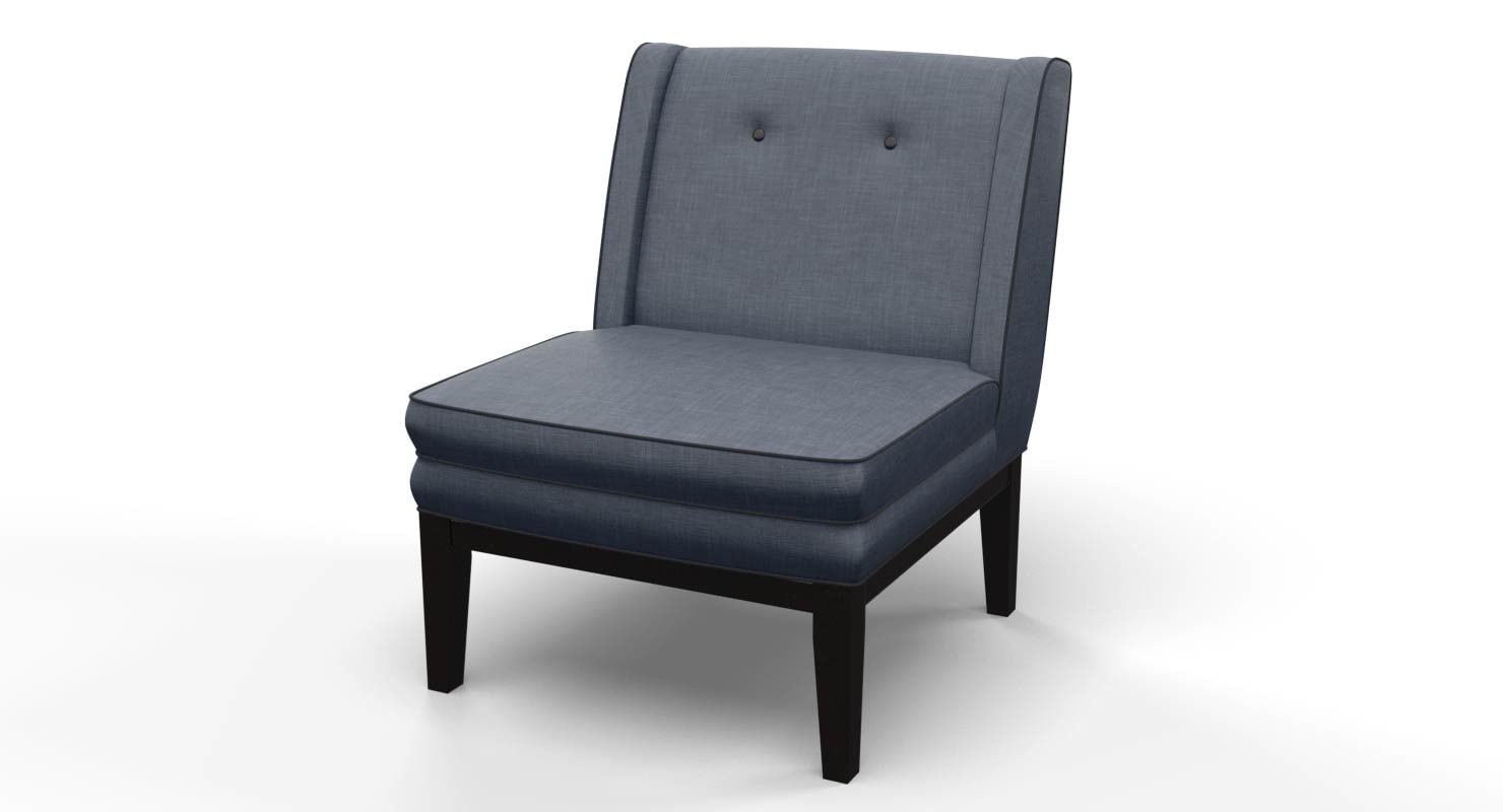 3d model living room chair