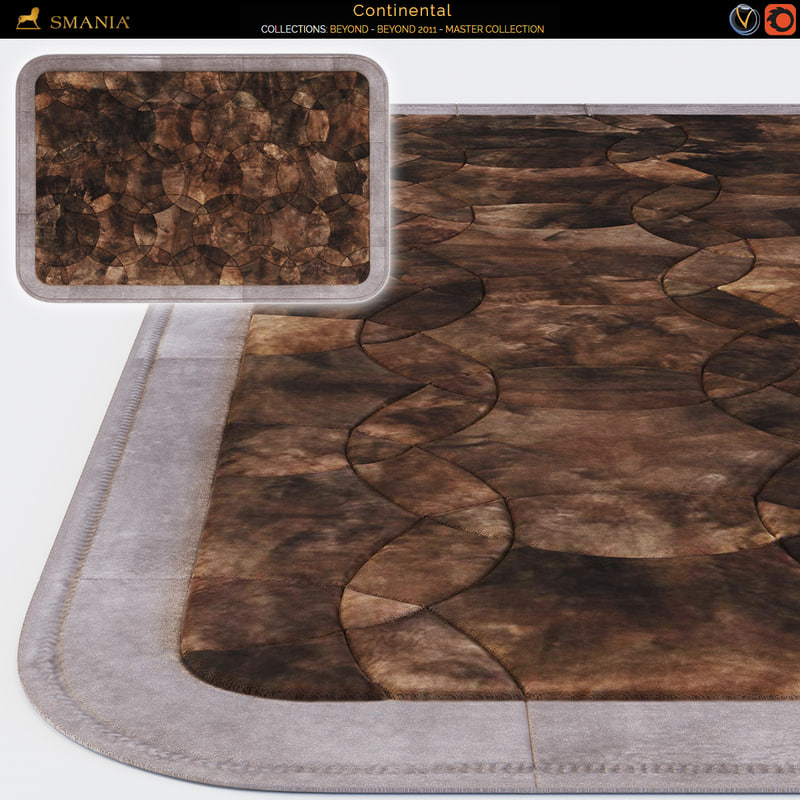 continental carpet 3d model