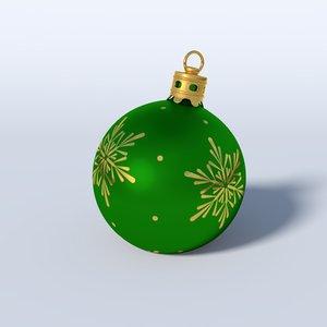 lwo christmas bauble