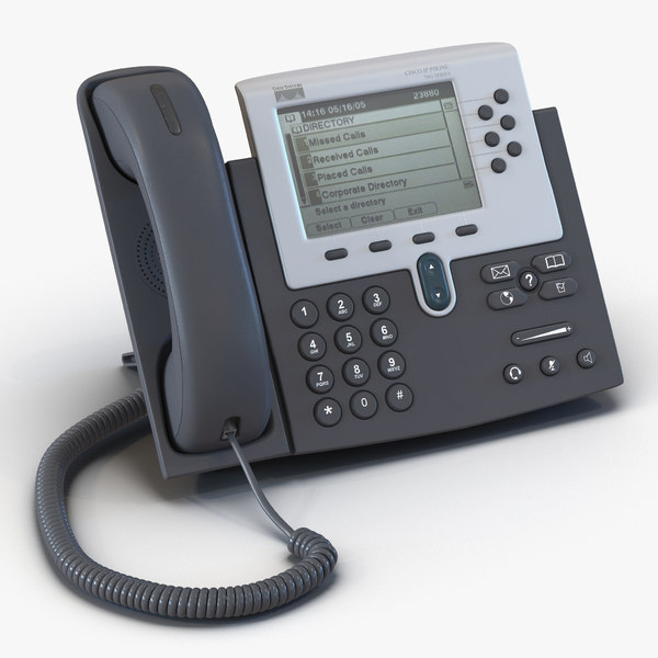 3d model cisco unified ip phone