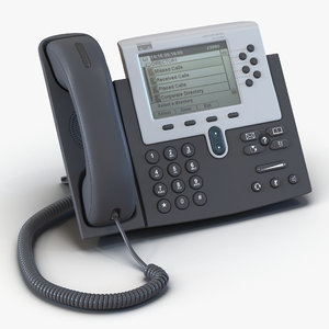 3d model cisco unified ip phone