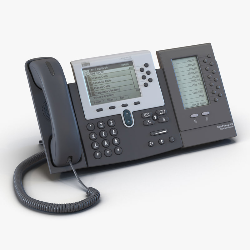 cisco unified ip phone 3d max