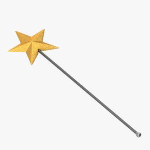 3d fairy sceptre