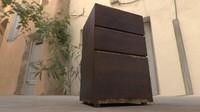 3d model office cabinet
