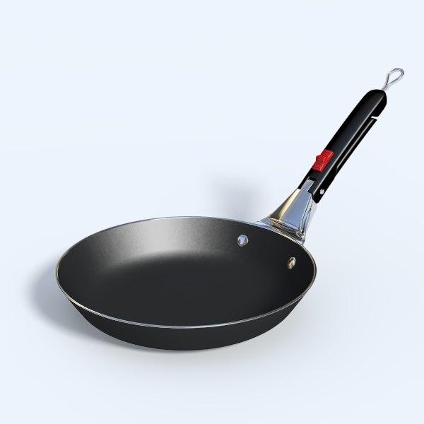 3d model weber fry pan