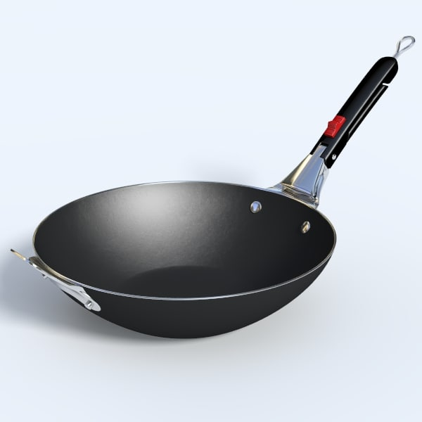 weber wok handle 3d model