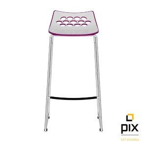 modern bar stool plastic 3d max