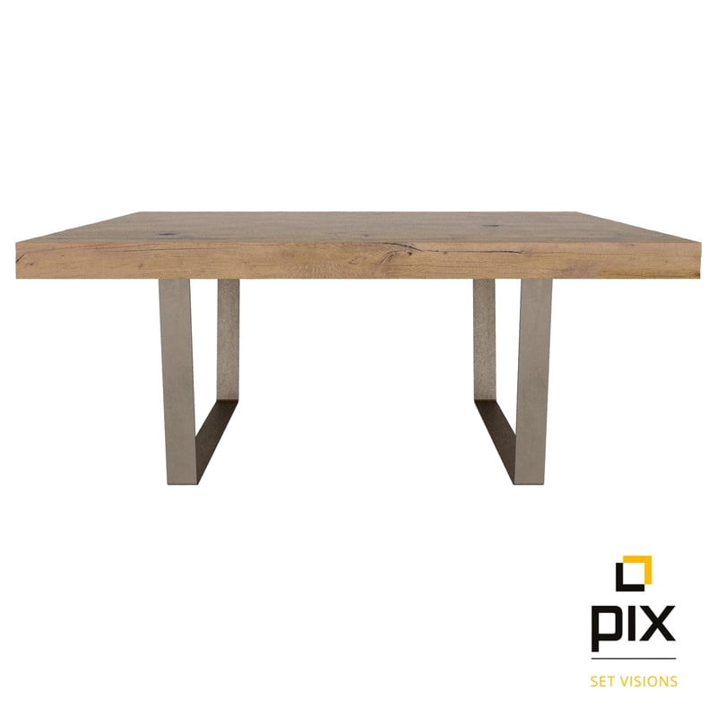 3d model realistic modern dining table