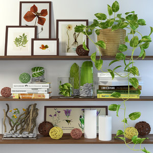3d decor shelves