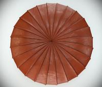 poltrona frau esedra pouf 3d model