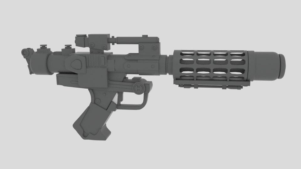 laser gun 3ds