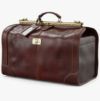 travel bag tuscany obj