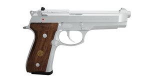 3d model beretta 92fs pistol