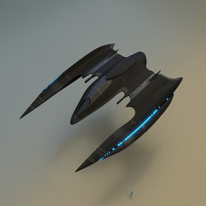 obj space fighter