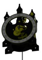 3d model l clock