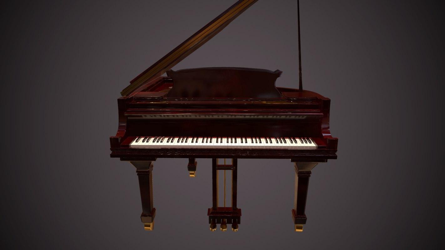3d grandpiano piano