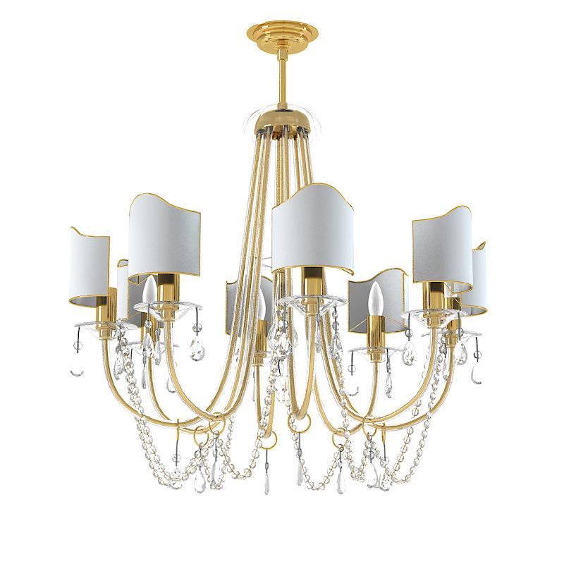 max italamp classic chandelier