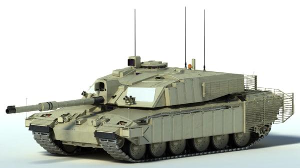 max challenger 2 mbt tank