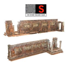 acient walls pack 7 3d model