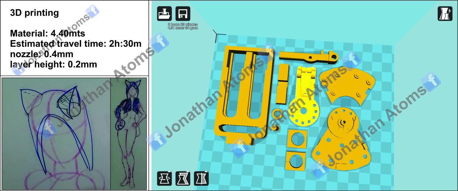 nekomimi mechanisms printing 3ds