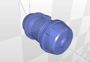 overwatch junkrat grenade 3d model