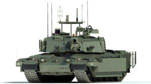 challenger 2 mbt tank max