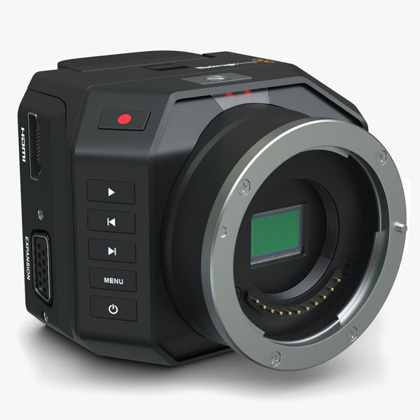 3d blackmagic micro camera model