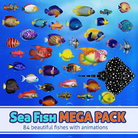 Sea Fish Mega Pack