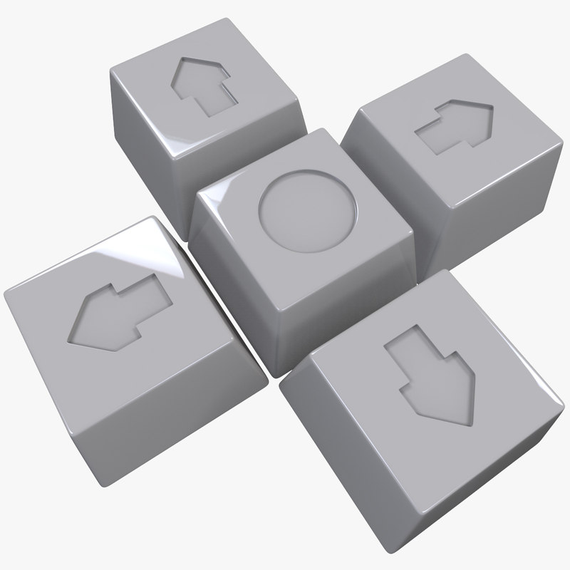 3ds buttons arrow