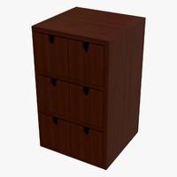 3d storage box dae