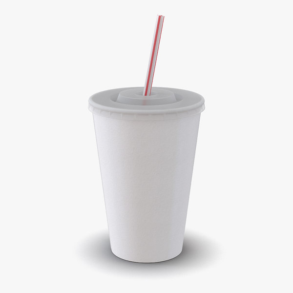 drink cup 3d 3ds