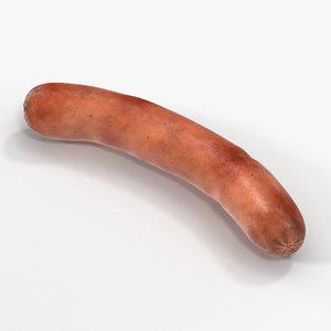 c4d grilled wiener