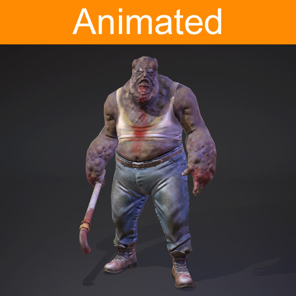 fat monster animations x
