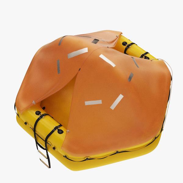 3d raft liferaft