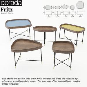 3d porada fritz tables