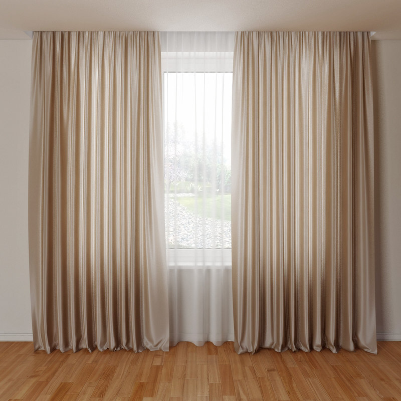 curtain obj