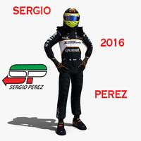Sergio Perez 2016